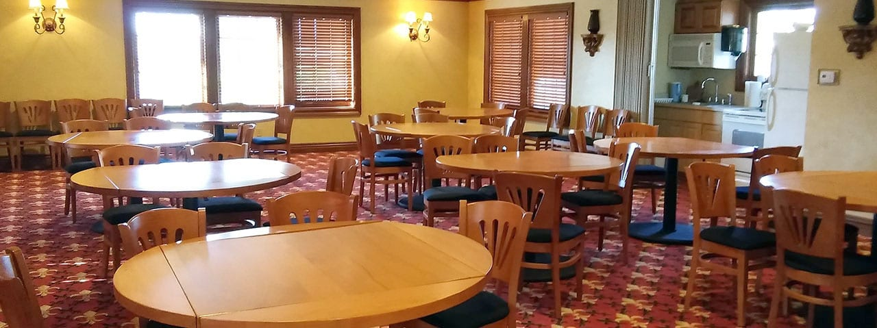 tables in group faciliity